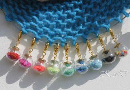 !Акция! Маркеры для вязания Шарики ручной работы на заказ