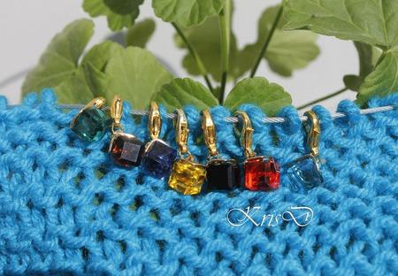 Маркеры для вязания кристалики ручной работы на заказ