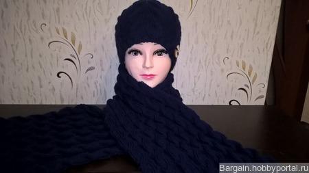 Шапка и шарф ручной работы на заказ