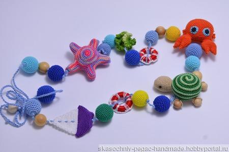 """Слингобусы """"Морские обитатели"""" ручной работы на заказ"""
