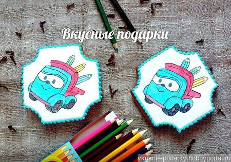 Пряники Грузовичок Лёва ручной работы на заказ