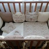 Бортики в кроватку коконы гнездышки для новорожденных в наличии и на заказ