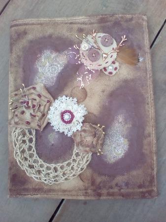 Обложка для дневника (тетради) ручной работы на заказ
