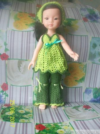 Вязаная одежда для кукол ручной работы на заказ