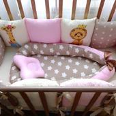 Комплект в кроватку для малышки в наличии