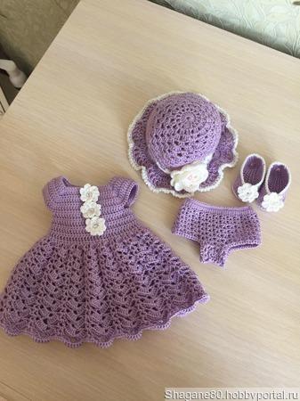 Платье для куклы ручной работы на заказ