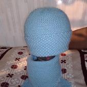 Шапочка и шарф-манишка