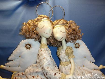 Ангелы-неразлучники ручной работы на заказ