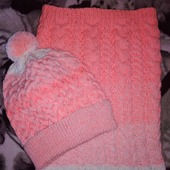 Шапочка и шарф - снуд