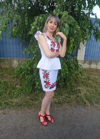 """Костюм """" Украина"""" ручной работы на заказ"""