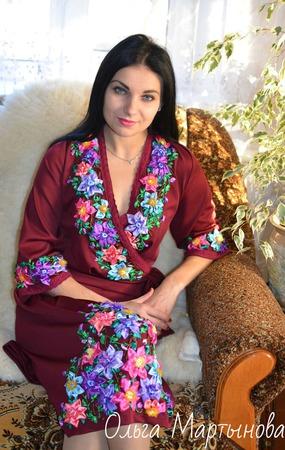 """Платье"""" Даяна"""" ручной работы на заказ"""
