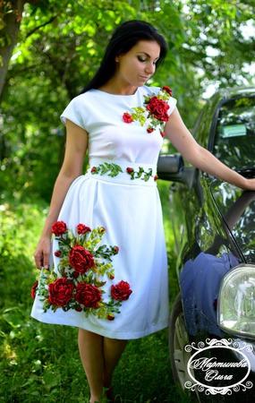 "Платье""Муза"" ручной работы на заказ"