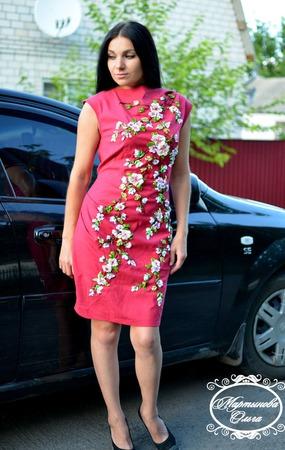 """Платье""""Виолетта"""" ручной работы на заказ"""