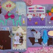 Развивающий домик для куколки