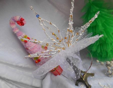 Корона снежинка ручной работы на заказ