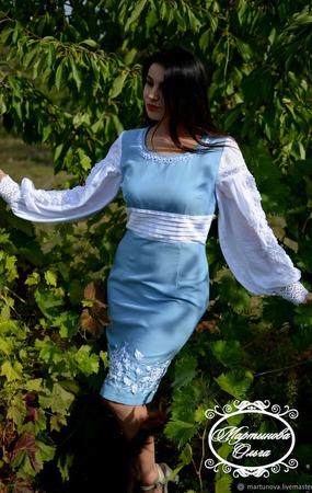 """Платье """" Соблазн"""" ручной работы на заказ"""