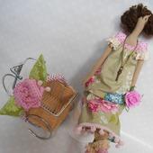 Кукла Тильда+ободок для девочек