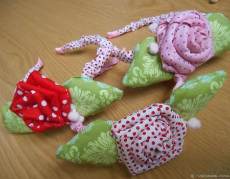 Кукла Тильда+ободок для девочек ручной работы на заказ