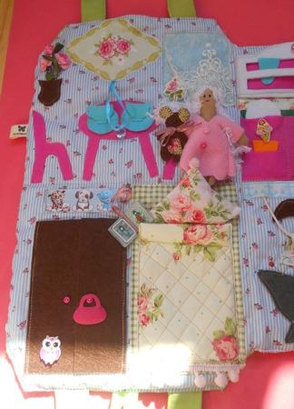 Сумка-домик для куклы ручной работы на заказ