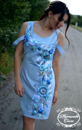 """Платье"""" Мечта"""" ручной работы на заказ"""