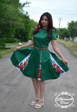 """Платье""""Рандеву"""" ручной работы на заказ"""