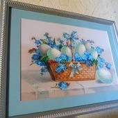 фото: Картины и панно (пасхальные яйца)