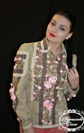 """Блуза""""Варсавия"""" ручной работы на заказ"""
