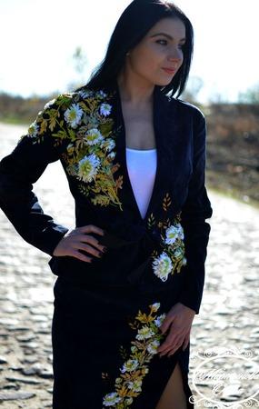 """Костюм"""" Хризантемы"""" ручной работы на заказ"""