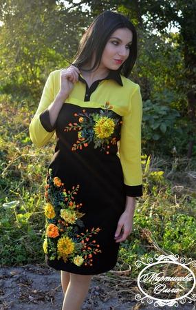 """Платье""""Паутинка"""" ручной работы на заказ"""