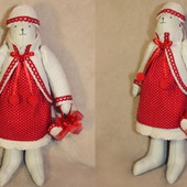 Кукла тильда-мишка