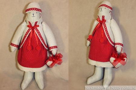 Кукла тильда-мишка ручной работы на заказ