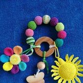 Грызунок-погремушка Цветик-семицветик
