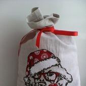 Мешочек для новогодних подарков