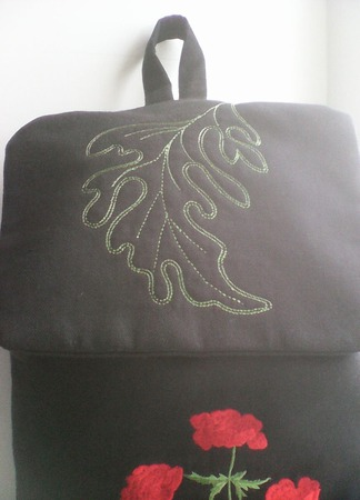 Рюкзак из льна ручной работы на заказ