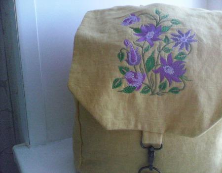 Рюкзак городской ручной работы на заказ