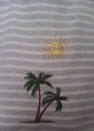 Сумка летняя(пляжная) ручной работы на заказ