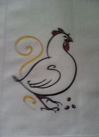 Полотенце из льна ручной работы на заказ