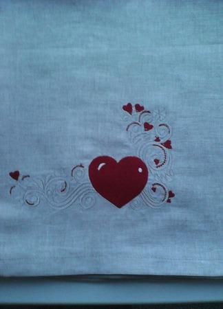 Полотенце льняное ручной работы на заказ