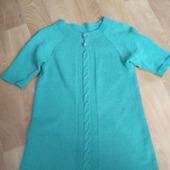 Вязанное платье из плотного хлопка