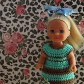 Яркий Микс. Коллекция платьев для маленьких куколок Evi, Shelly, Kelly