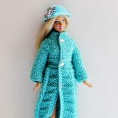 """Ажурное пальто """"Wave"""" для Барби"""