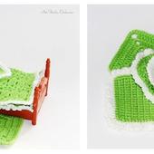 Одеяльца, пледики, подушечки для маленьких зверюшек и куколок
