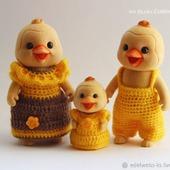 Миниатюрные наряды для зверюшек Sylvanian families, Happy Family