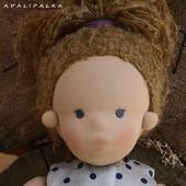 Кукла в вальдорфском стиле Ева