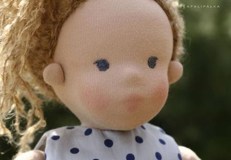 Кукла в вальдорфском стиле Ева ручной работы на заказ