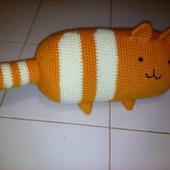 Кот о подушка