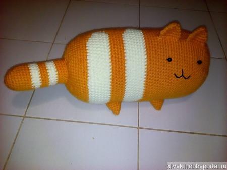 Кот о подушка ручной работы на заказ