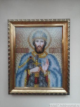 Икона Святой Петр ручной работы на заказ