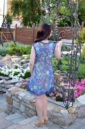 Платье Настин каприз ручной работы на заказ