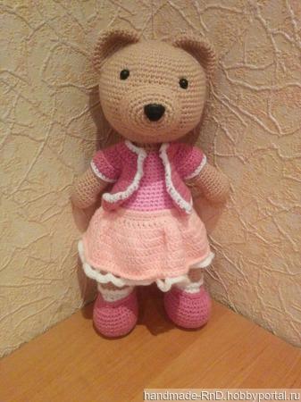 Медведица Настенька ручной работы на заказ